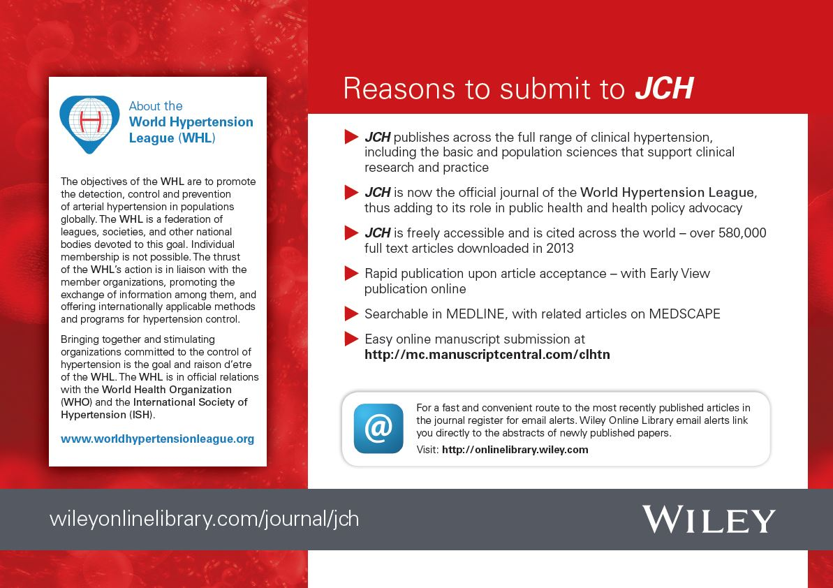 Reasons to Submit to JCH